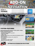 NAVIGATION PART#TOYNAV8