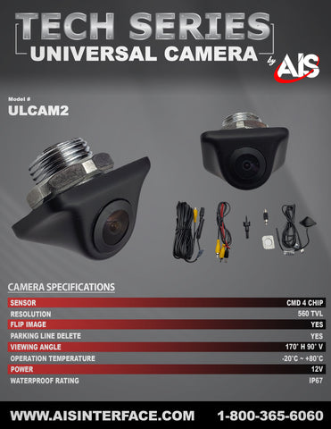 TECH SERIES CAMERA PART#ULCAM2