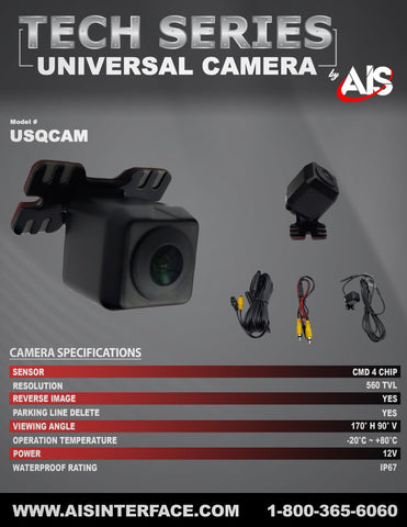 TECH SERIES CAMERA PART#USQCAM