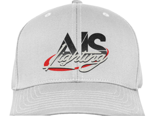 AISLFHWH AIS LIGHTS LOGO FLEX FIT HAT