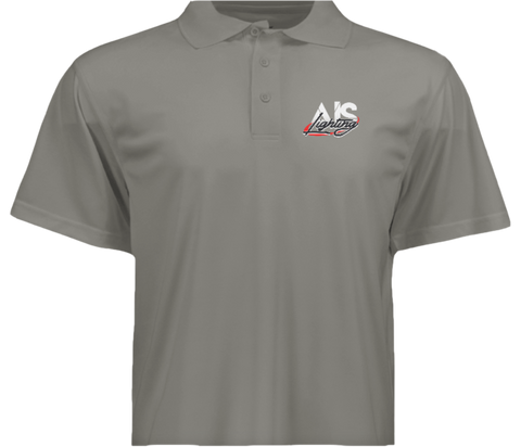 AISLGSGYXL XL MENS GREY AIS LIGHTS GOLF SHIRT