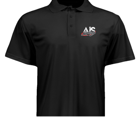 AISLGSBKXL XL MENS BLACK AIS LIGHTS GOLF SHIRT
