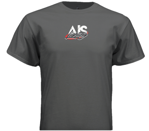 AISLTSGYL L MENS GREY AIS LIGHTS T-SHIRT