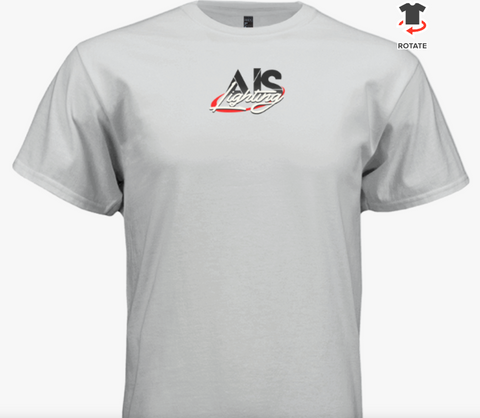 AISLTSWHXL XL MENS WHITE AIS LIGHTS T-SHIRT