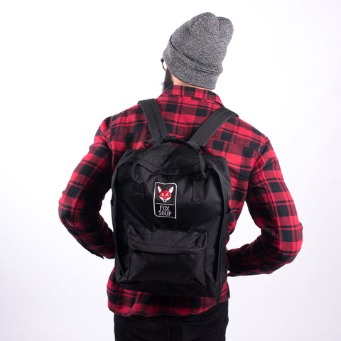 Fox Soup Official Ruck Sack  - Black