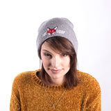 Original Fox Soup Beanie - Light Grey