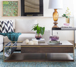 Brick coffee table by Lattoog - Kelly Christian Designs
