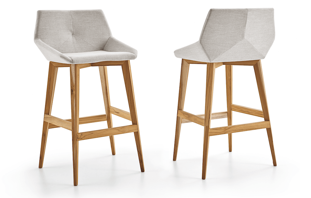 Cubi bar stool by Larissa Batista - Kelly Christian Designs