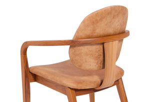 Omar Armchair / Desk Chair by Rejane Carvalho Leite - Kelly Christian Designs