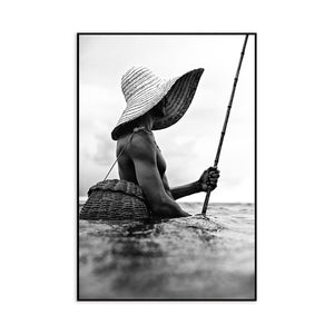 Fishing Man (Barcos Series) by Bruno Riveiro for Artimage - Kelly Christian Designs