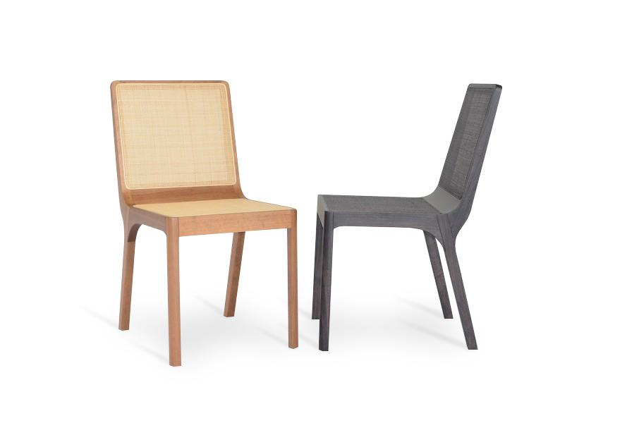 Foz side chair/dining chair by Rejane Carvalho Leite - Kelly Christian Designs