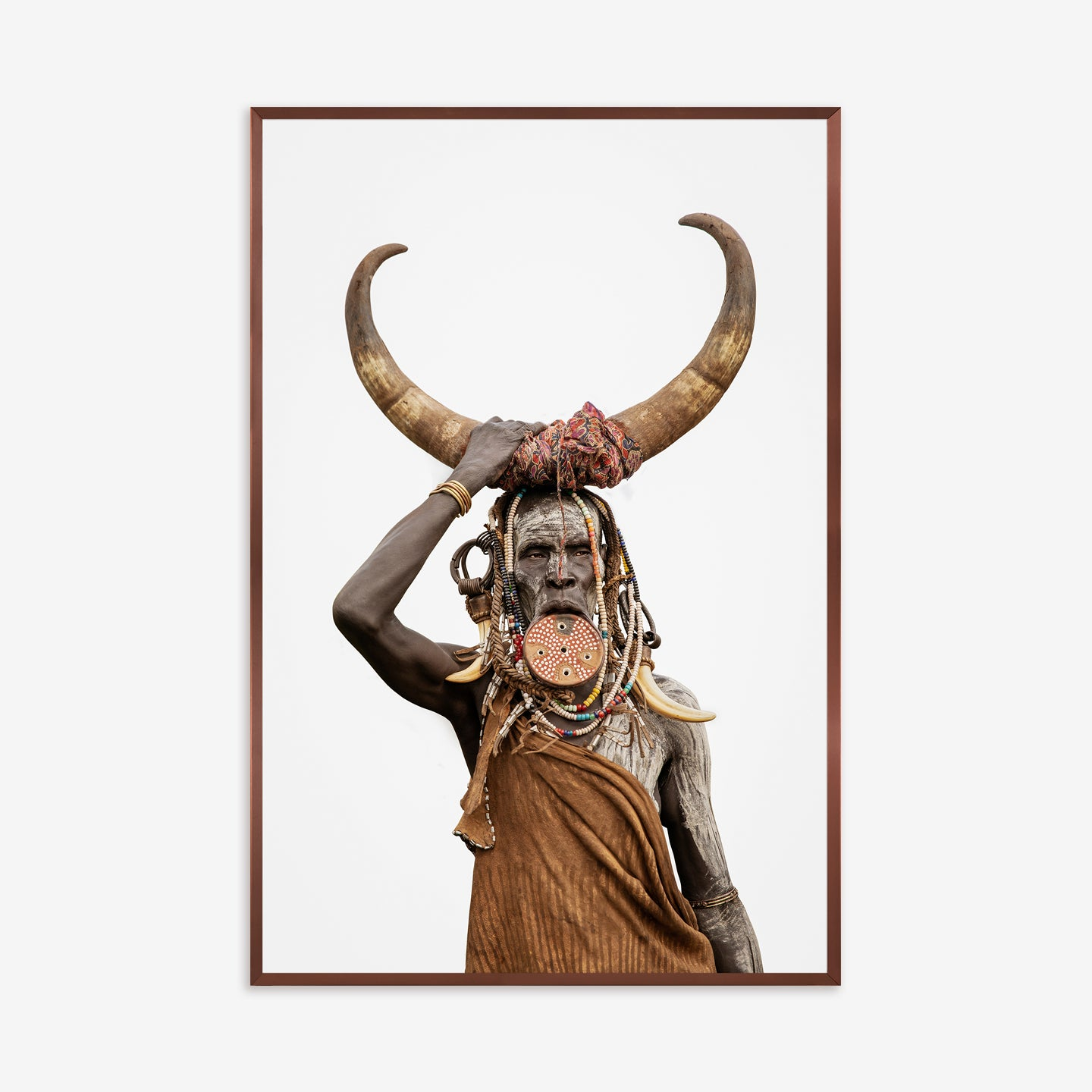 Horn - Mursi Tribe by Giovanna Aryafara for Artimage - Kelly Christian Designs