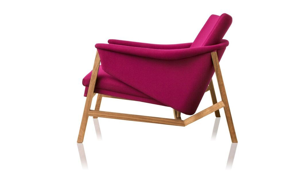 Isa lounge armchair by Jader Almeida - Kelly Christian Designs