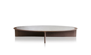 Bizzet coffee table by Jader Almeida (marble top) - Kelly Christian Designs