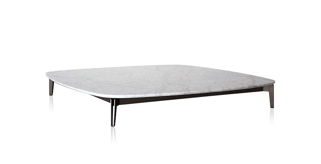 Bank coffee table by Jader Almeida (marble top)