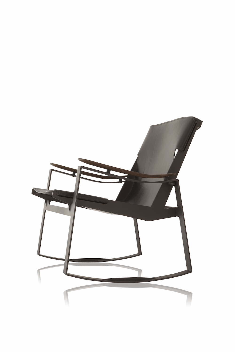 Licce lounge rocking armchair by Jader Almeida - Kelly Christian Designs