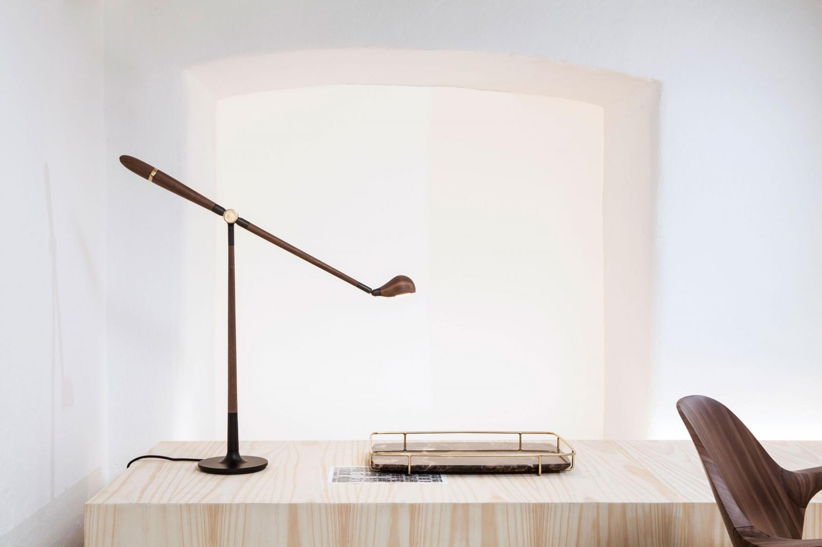 Memory table lamp by Jader Almeida - Kelly Christian Designs