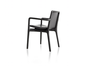 Milla 160/120 armchair by Jader Almeida (rattan straw or upholstered backrest) - Kelly Christian Designs