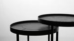 Ora nesting side tables by Marcelo Ligieri (set of 2 nesting tables) - Kelly Christian Designs