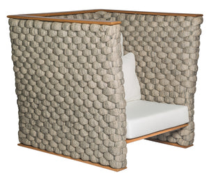 Diva outdoor armchair by Guto Biazzetto - Kelly Christian Designs