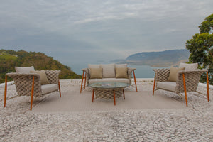 Ilhabela outdoor centre table by Rodrigo Karam - Kelly Christian Designs