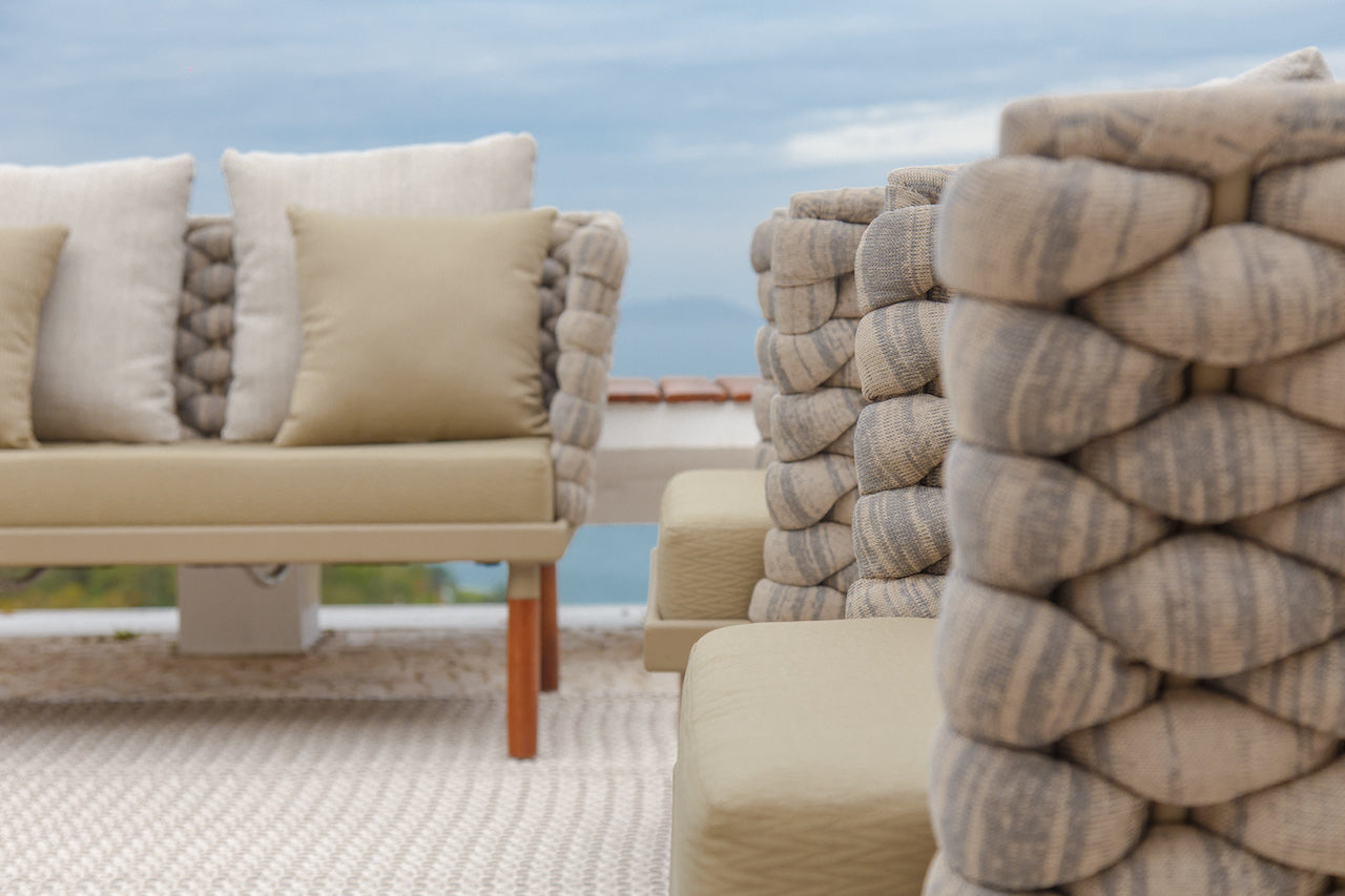 Florenca outdoor armchair by Rodrigo Karam - Kelly Christian Designs