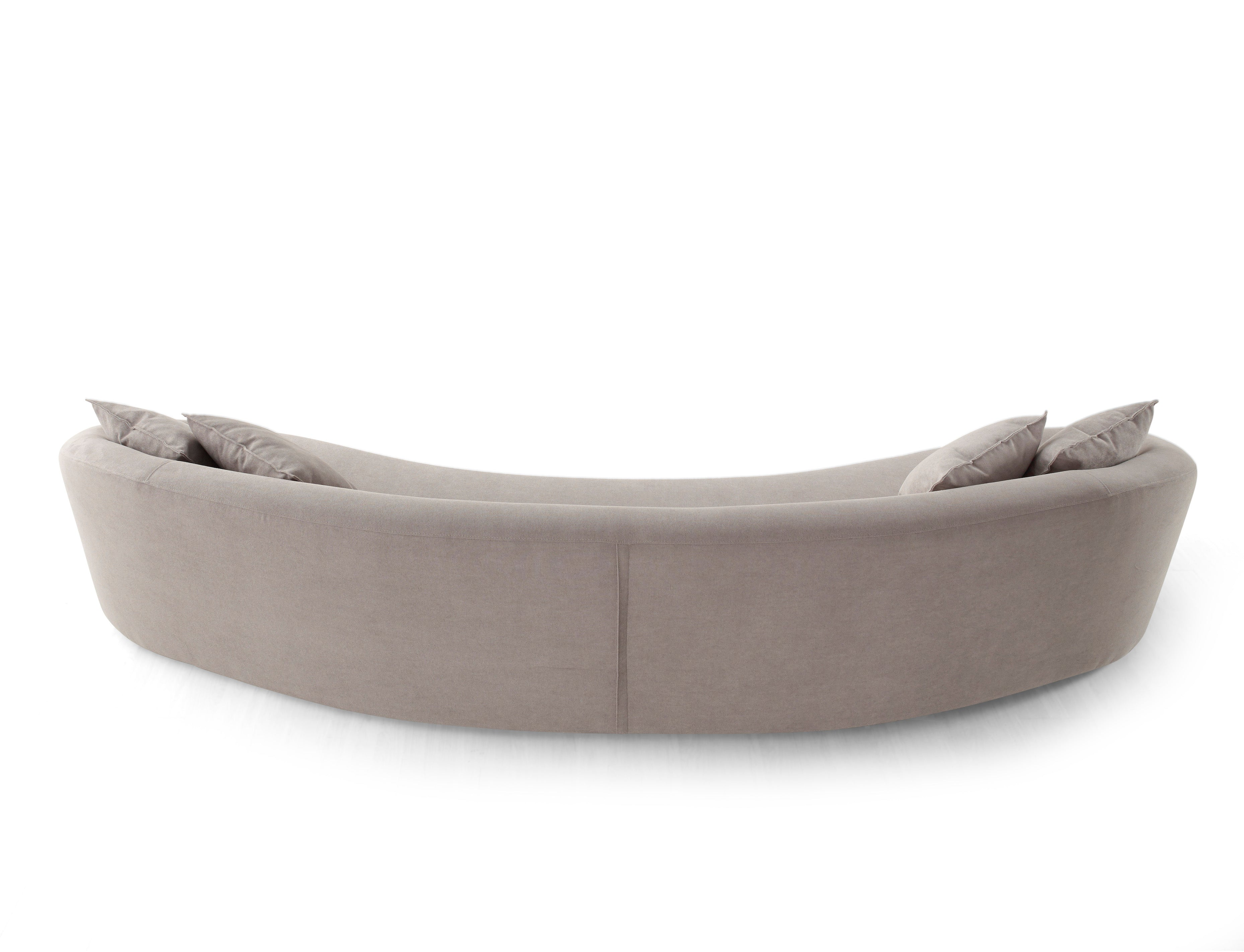 Stone curved sofa by Studio Feeling - Kelly Christian Designs