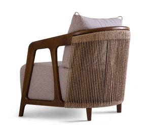 Serena lounge armchair by Bruno Faucz - Kelly Christian Designs