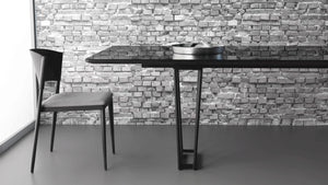 Slim dining table by Marcelo Ligieri - Kelly Christian Designs