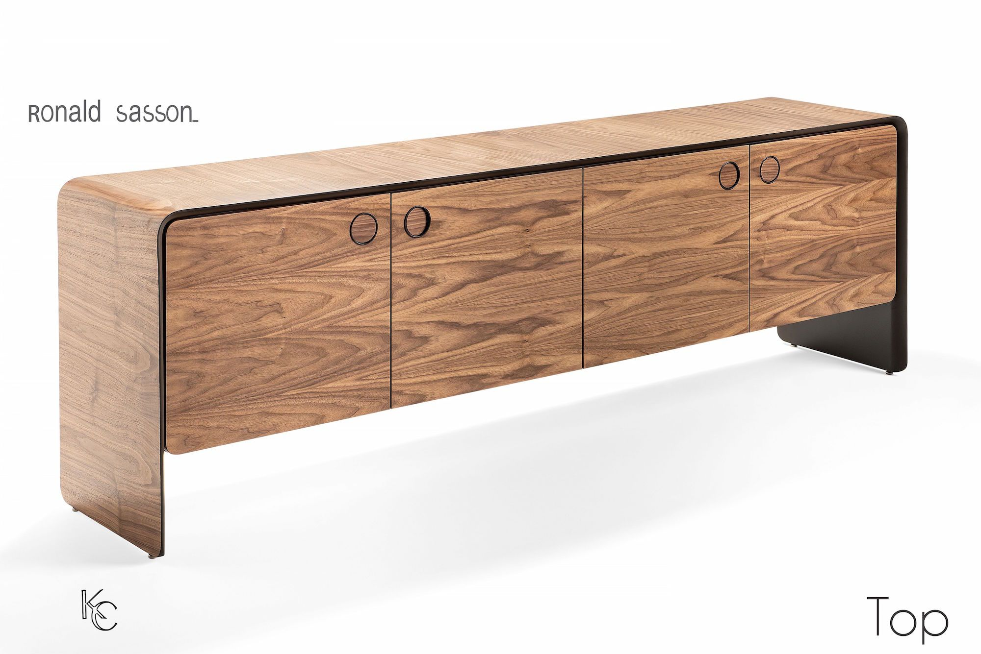 Top sideboard/credenza by Ronald Scliar Sasson - Kelly Christian Designs