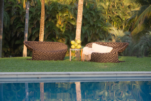 Concha outdoor sofa by Indio da Costa - Kelly Christian Designs