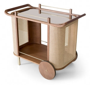 Dinda bar cart by Moveis James - Kelly Christian Designs