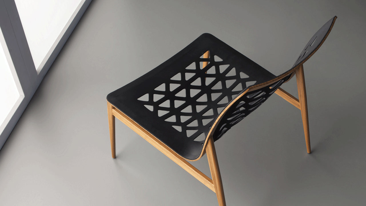 Ego lounge chair by Marcelo Ligieri (iF Design Award 2018) - Kelly Christian Designs