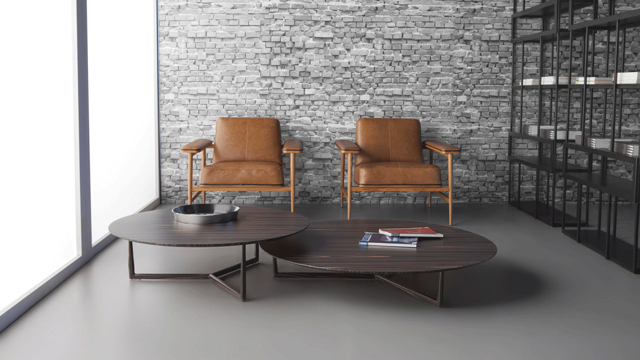 Form coffee table by Marcelo Ligieri (nesting optional) - Kelly Christian Designs