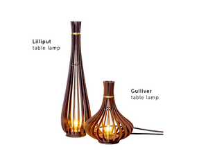 Gulliver table lamp by Lattoog - Kelly Christian Designs