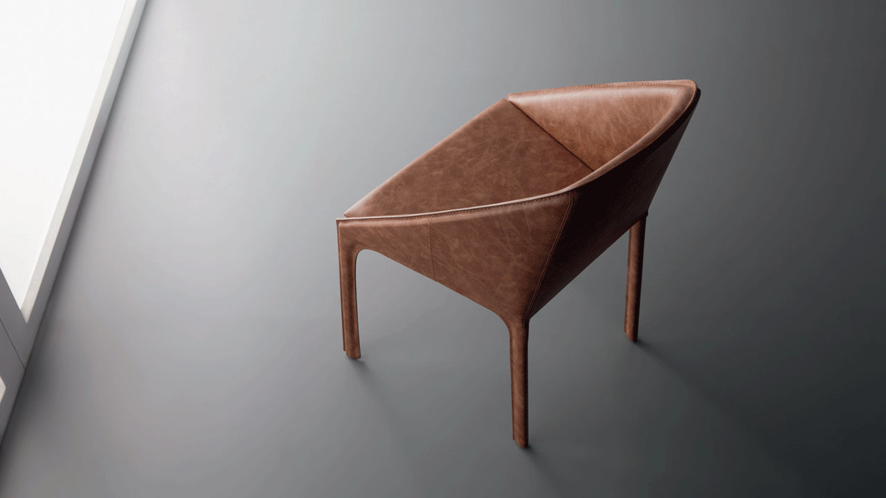 Shell lounge chair by Marcelo Ligieri - Kelly Christian Designs