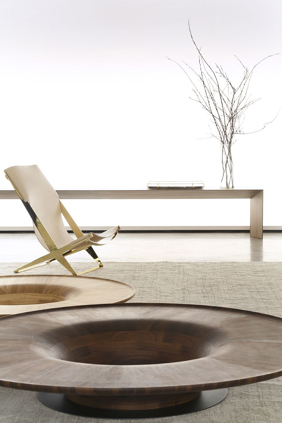 Twist coffee table by Jader Almeida (nesting optional) - Kelly Christian Designs
