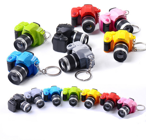 Camera Keychain (soundable and flashing)