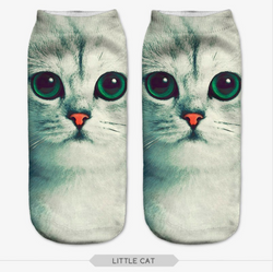 Kitty face socks