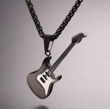 Electric Guitar Necklace - Stainless Steel 002
