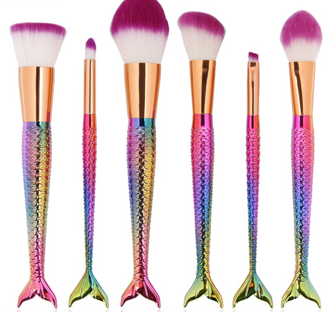 LUXURY MERMAID MAKEUP BRUSHES