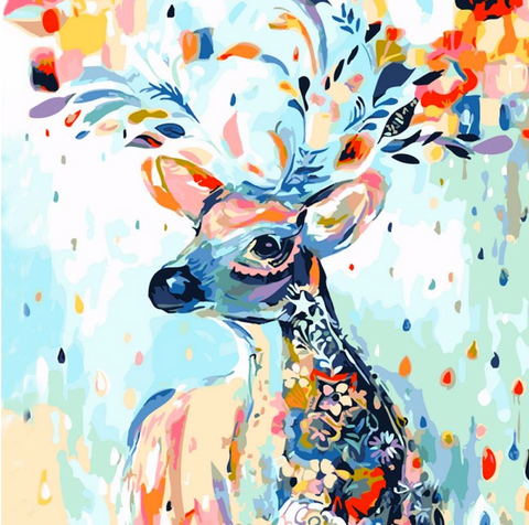 Deer 001- 40x50 cm (16x20 inches)