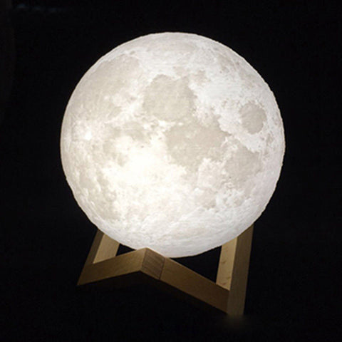 Amazing 3D Moon Led Lamp