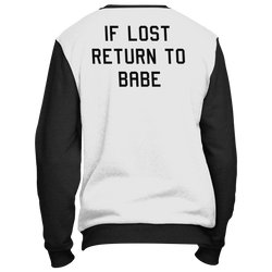 If Lost Return To Babe -1st part- (Unisex)