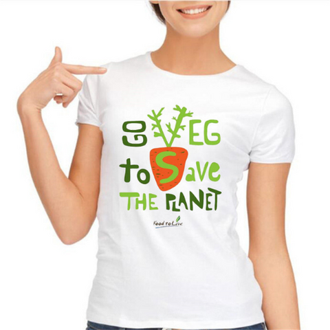 Vegan T-Shirt for women 013