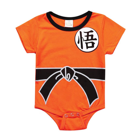 Body Bebê Goku Dragon Ball - Boutique Baby Kids