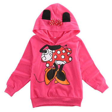 Moletom Infantil Mickey e Minnie com Capuz - Boutique Baby Kids
