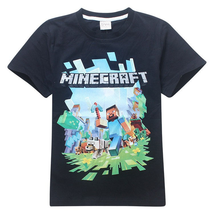 Camiseta Infantil Jogo Minecraft - Boutique Baby Kids