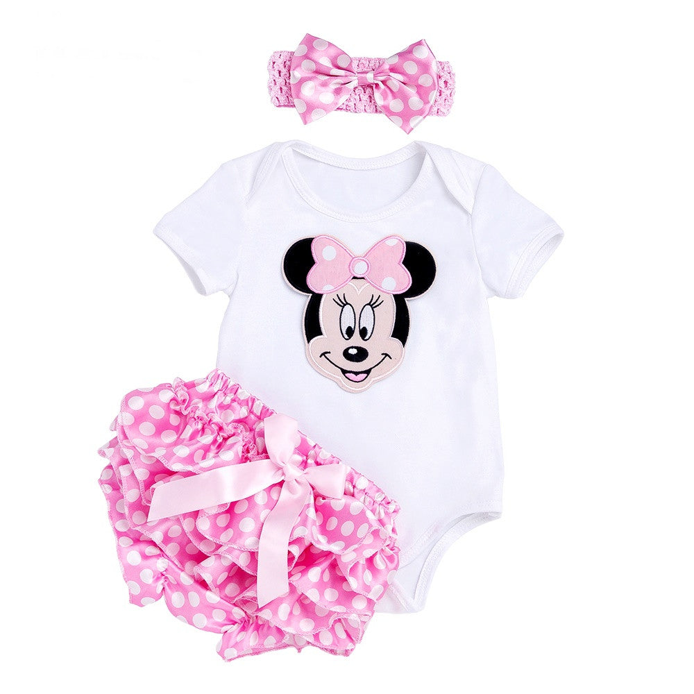 Conjunto Bebê Rosa Disney Minnie - Boutique Baby Kids
