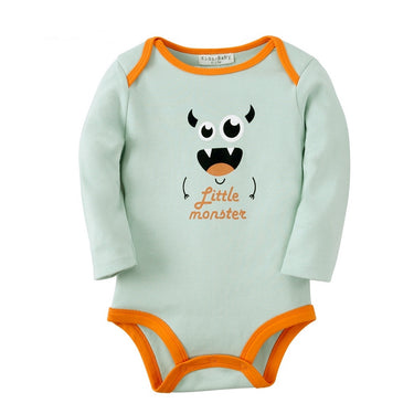 Body Bebê Monstrinho Manga Longa - Boutique Baby Kids